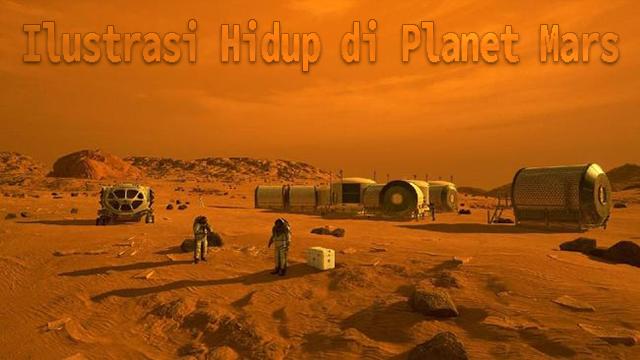 Gambaran Hidup di Planet Mars